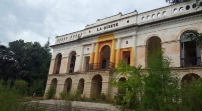 Villa Spada prima dell'inizio dei lavori di recupero