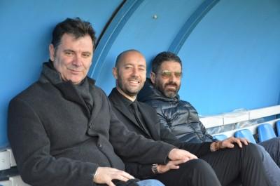 Spadoni, Bucchi e Nacciarriti in panchina al Paolo Mazza di Ferrara