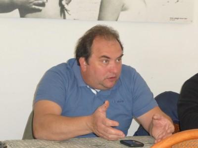 Il presidente Abat Claudio Pini