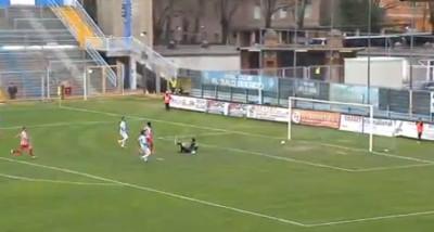Il gol di Kouko contro la Spal