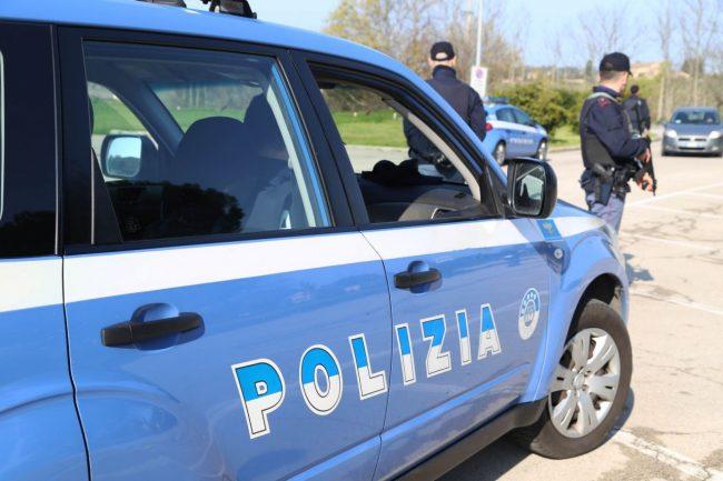 posto di blocco polizia villa potenza foto ap (5)