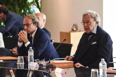 Andrea e Diego della Valle all'assemblea degli azionisti