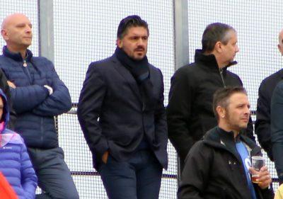 Gennaro Gattuso all'Helvia Recina. I destini di Maceratese e Pisa si incroceranno di nuovo