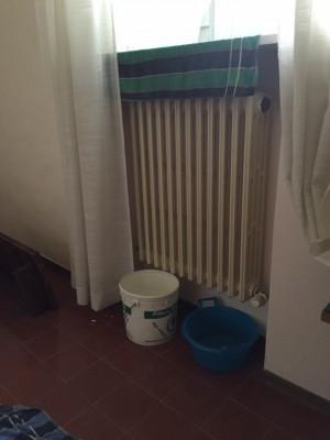 I secchi per raccogliere l'acqua