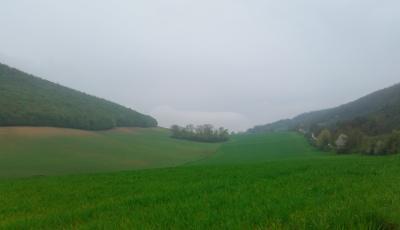 La valle dove, secondo i documenti regionali, si può scavare
