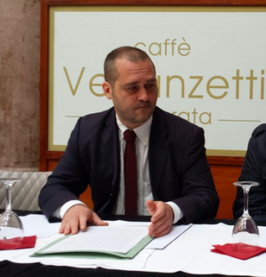 L'avvocato Diego Perrone