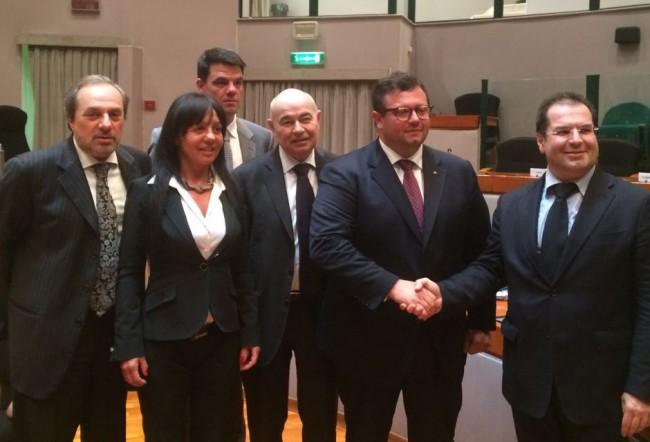 banca d'Italia con la commissione