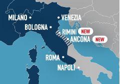 L'estensione del servizio in Italia
