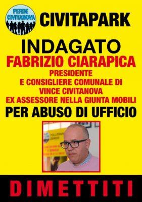 Il manifesto contro Ciarapica