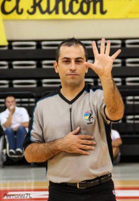 L'arbitro Mauro Zamponi