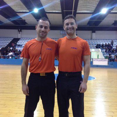 Mauro Zamponi insieme a Cristian Roja: sono gli unici due arbitri italiani di basket in carrozzina che saranno alle paralimpiadi di Rio