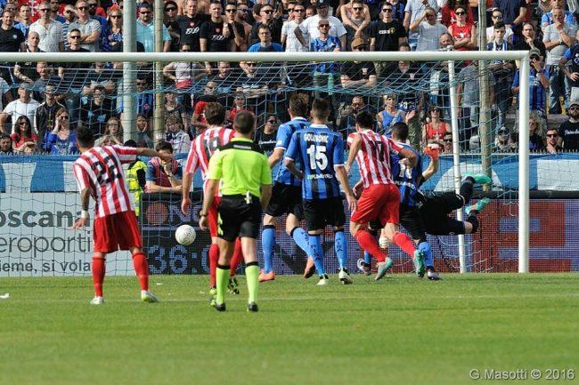 Il gol di Altobelli del momentaneo 2 a 1