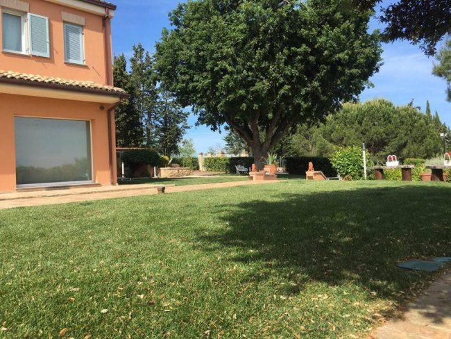 Il B&B Villa Silvio dove si terrà il picnic filosofico