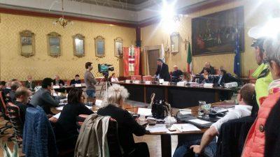 L'intervento del sindaco Pezzanesi