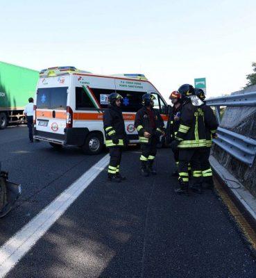incidente km 265 autostrada a14 - porto sant'elpidio - civitanova (1)