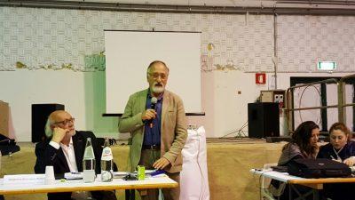 Il sindaco di Pievebovigliana Sandro Luciani