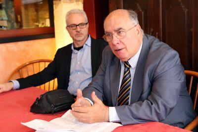 Da sinistra Marco Capponi e Luciano Moretti