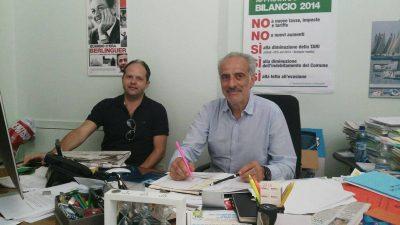 Guido Frinconi e Giulio Silenzi