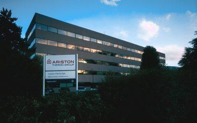 La sede Ariston di Fabriano