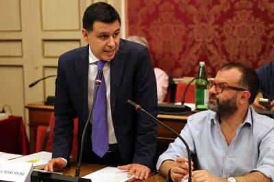 L'avvocato Andrea Marchiori, consigliere di Forza Italia