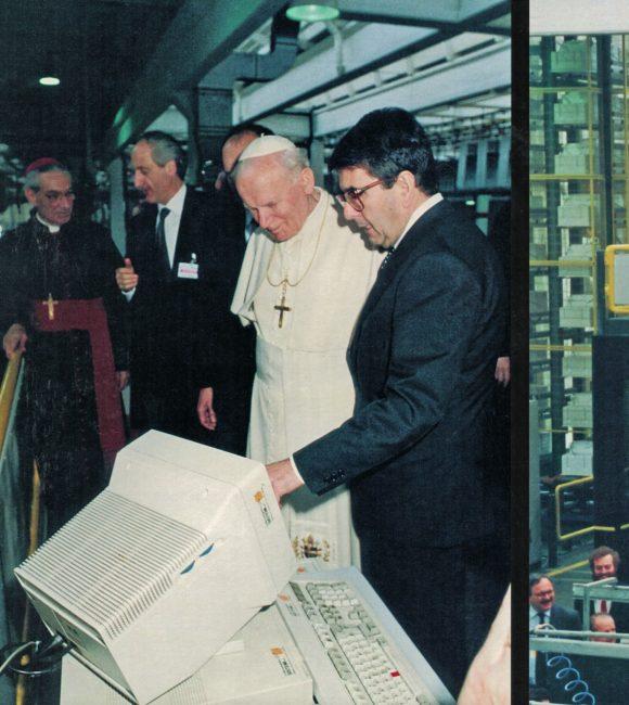 Merloni e il papa 2