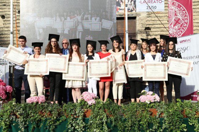 Alcuni dei premiati