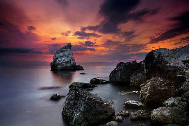 """""""sunrise in the Riviera of Conero"""" uno degli scatti di Francesco Russo"""