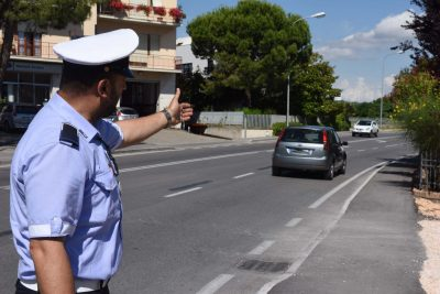 incidente - ciclista - via martiri di belfiore - vigili urbani - civitanova (3)