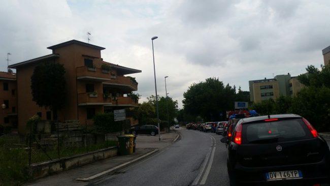 traffico tilt via roma