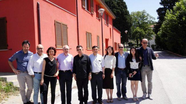 rappresentanti governo cinese visita