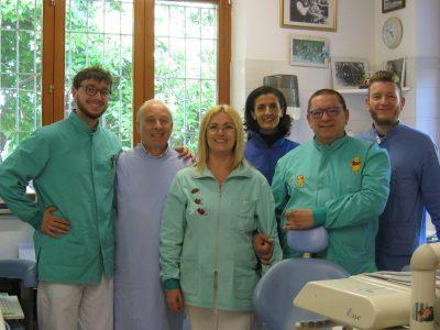 Lo staff dello studio Passaretti