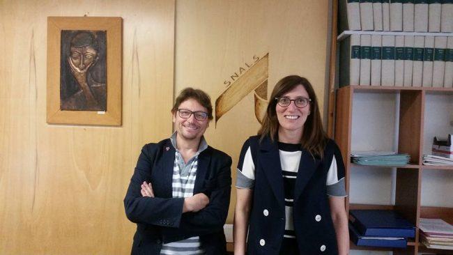 Ugo Barbi e l'avvocato Francesca Staracci
