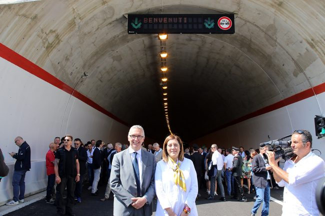 Ceriscioli_Catiuscia Marini_inaugurazione quadrilatero_Foto LB (3)