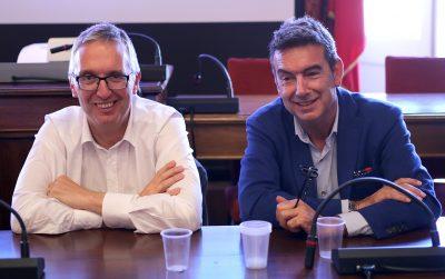 Da sinistra il governatore Luca Ceriscioli e il direttore Asur Alessandro Marini