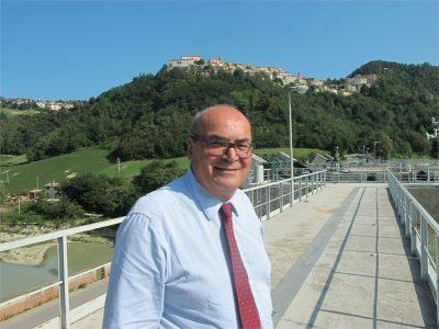 Claudio Netti, presidente del Consorzio di bonifica delle Marche