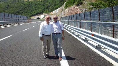 Antonio Pettinari e Tommaso Corvatta sulla superstrada