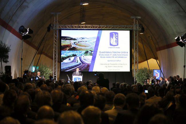 Gianni Armani presidente anas inaugurazione quadrilatero_Foto LB (2)