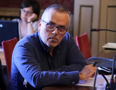Alessandro Maccioni, direttore dell'Area vasta 3