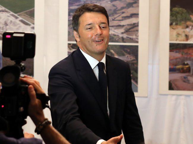 Matteo Renzi inaugurazione quadrilatero_Foto LB (1)