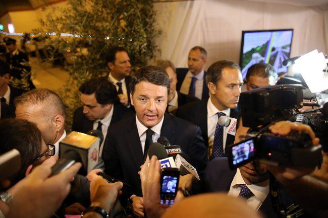 Matteo Renzi inaugurazione quadrilatero_Foto LB (3)