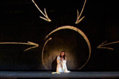 Otello, Nuccio e Desdemona nella foto di Alfredo Tabocchini
