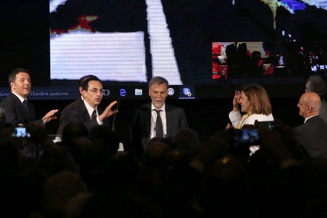 Renzi_Armani_Delrio_Marini_inaugurazione quadrilatero_Foto LB