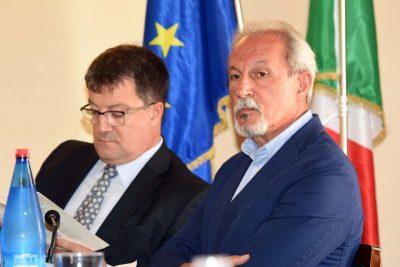 A destra Gianni Corvatta Arpam