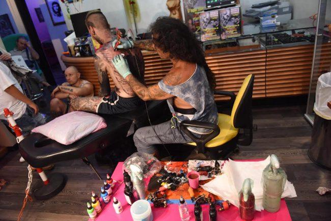 foto tatuatore civitanova guinness 2 de marco