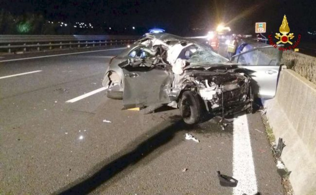 L'incidente in autostrada dove era rimasta ferita la 22enne fabrianese