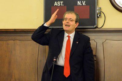 L'ex presidente del consiglio Ivo Costamagna