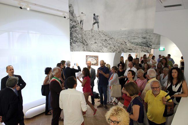 mostra mediterraneo 6th continent palazzo buonaccorsi mattia insolera_Foto LB (5)