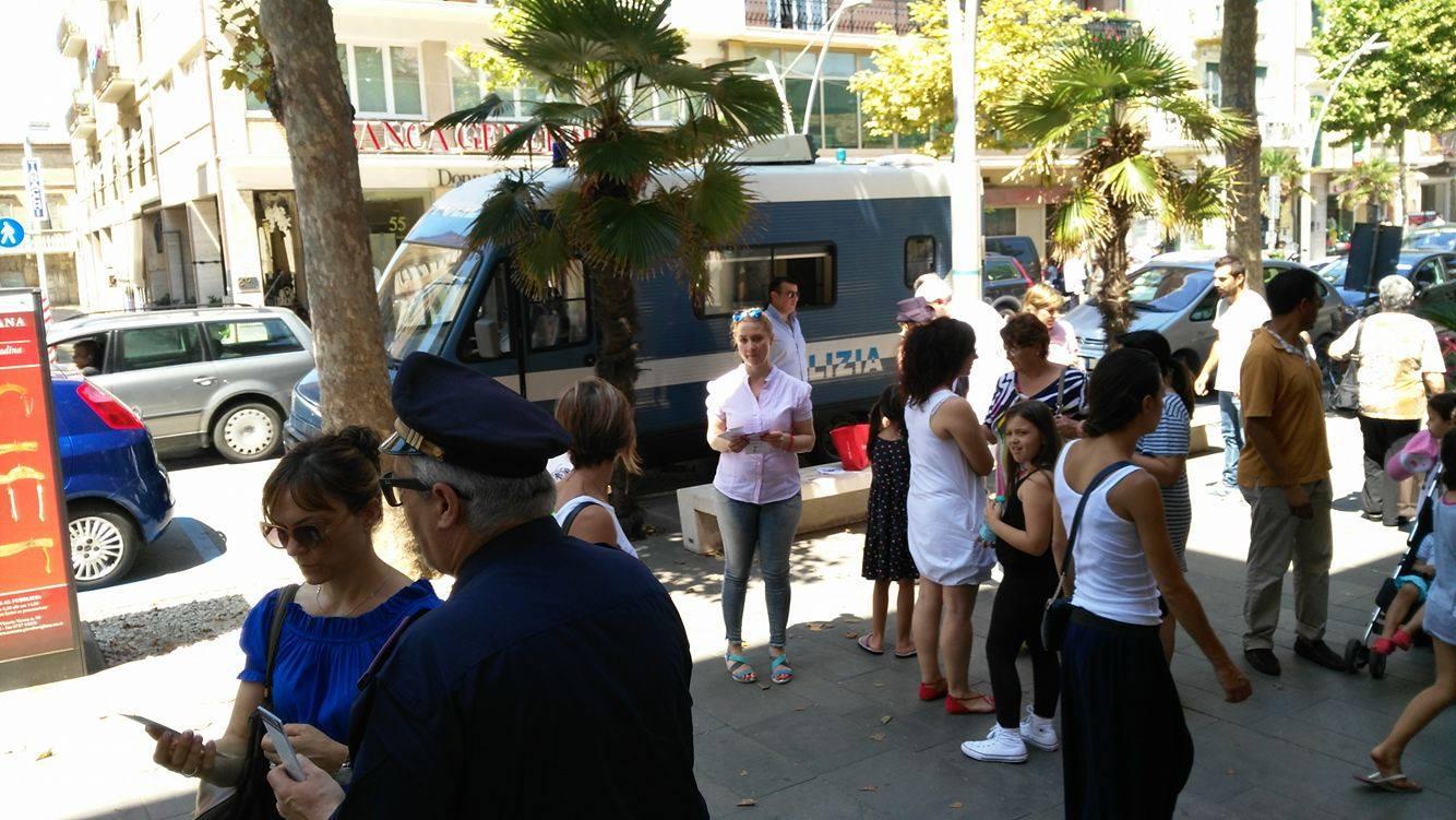 Violenza contro le donne: postazione della Polizia a Porto Torres