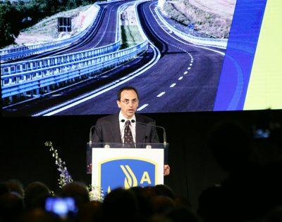 Il presidente dell'Anas Armani