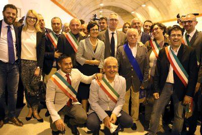 sindaci_Ceriscioli_Pettinari_inaugurazione quadrilatero_Foto LB (1)